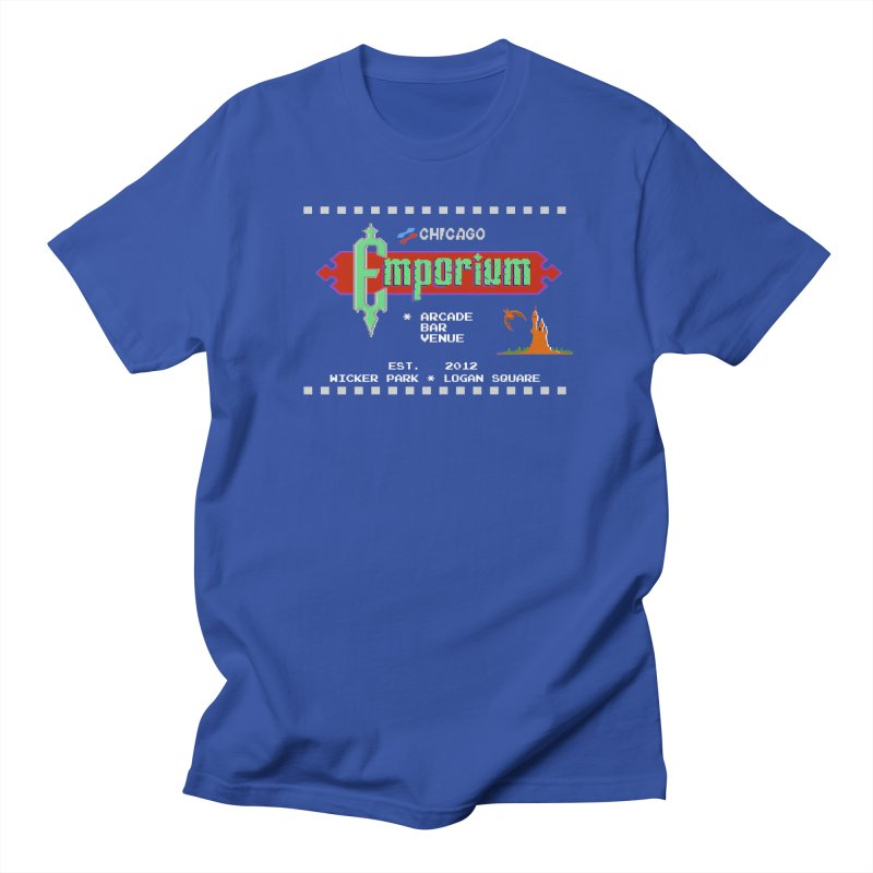 "Emporium ""Castlevania"" Design Men's Regular T-Shirt by Emporium Arcade Bar"