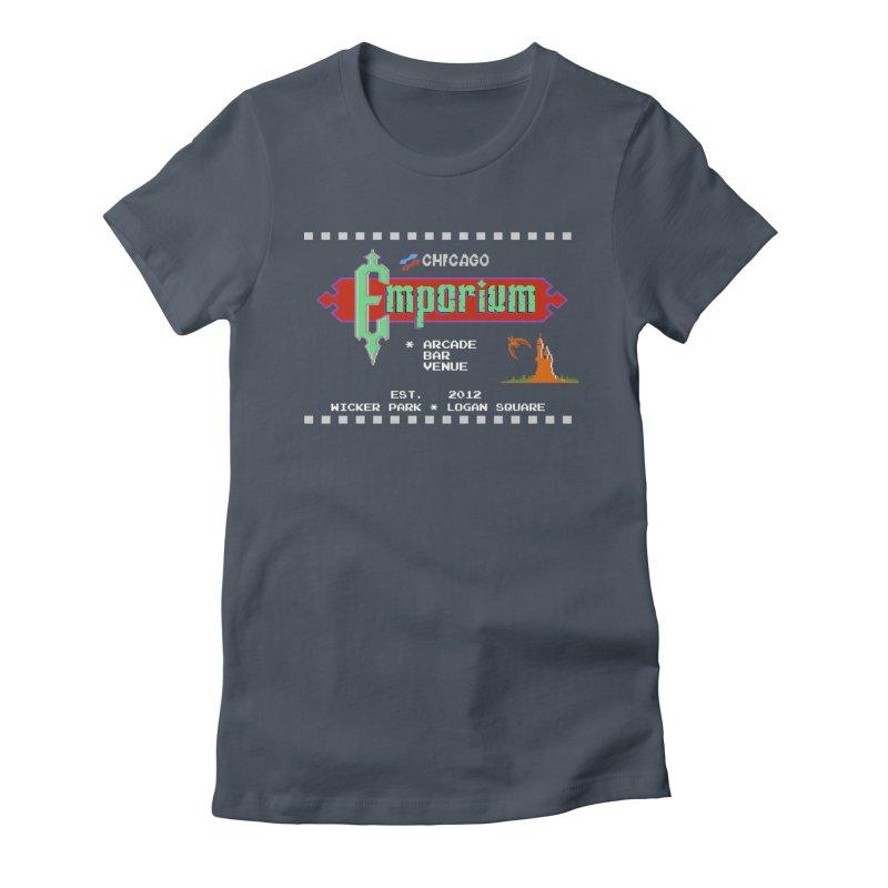"""Emporium """"Castlevania"""" Design Women's T-Shirt by Emporium Arcade Bar"""