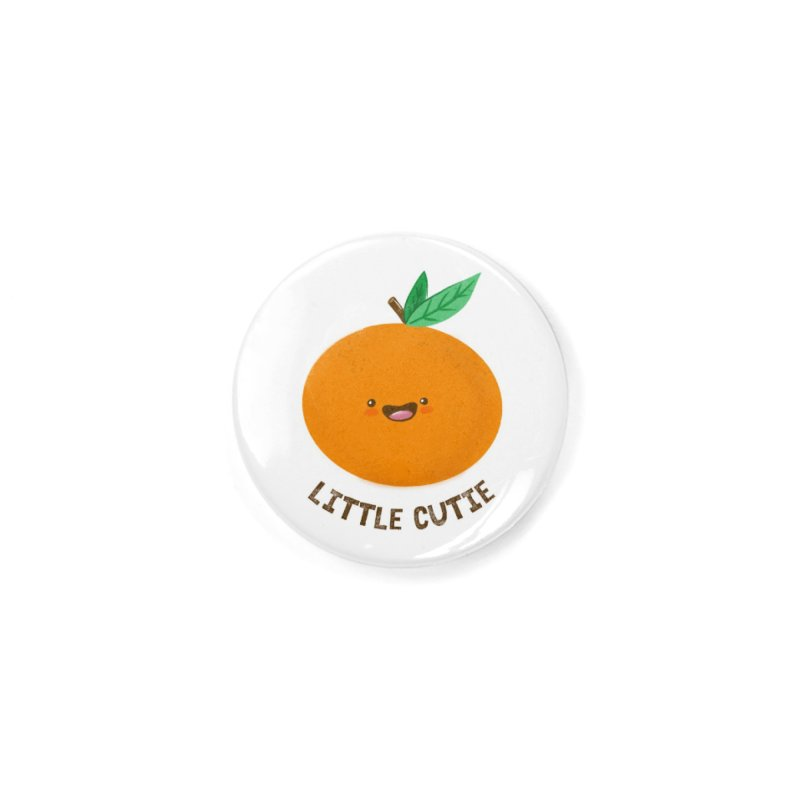 Little Cutie Accessories Button by empty bamboo girl Artist Shop