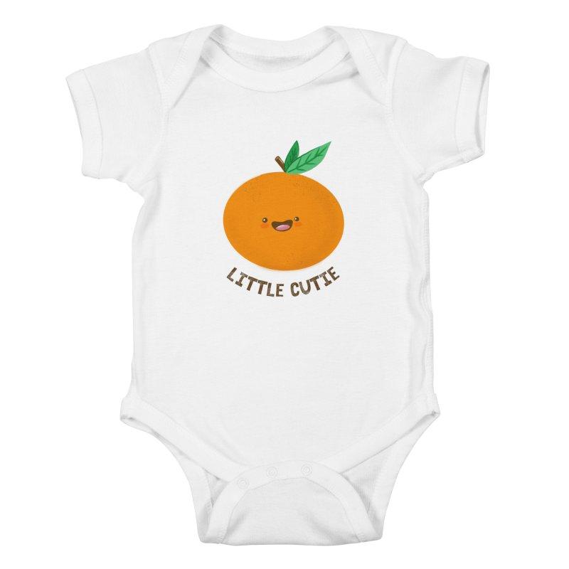 Little Cutie Kids Baby Bodysuit by empty bamboo girl Artist Shop