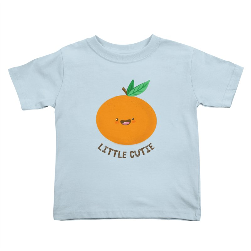 Little Cutie Kids Toddler T-Shirt by empty bamboo girl Artist Shop
