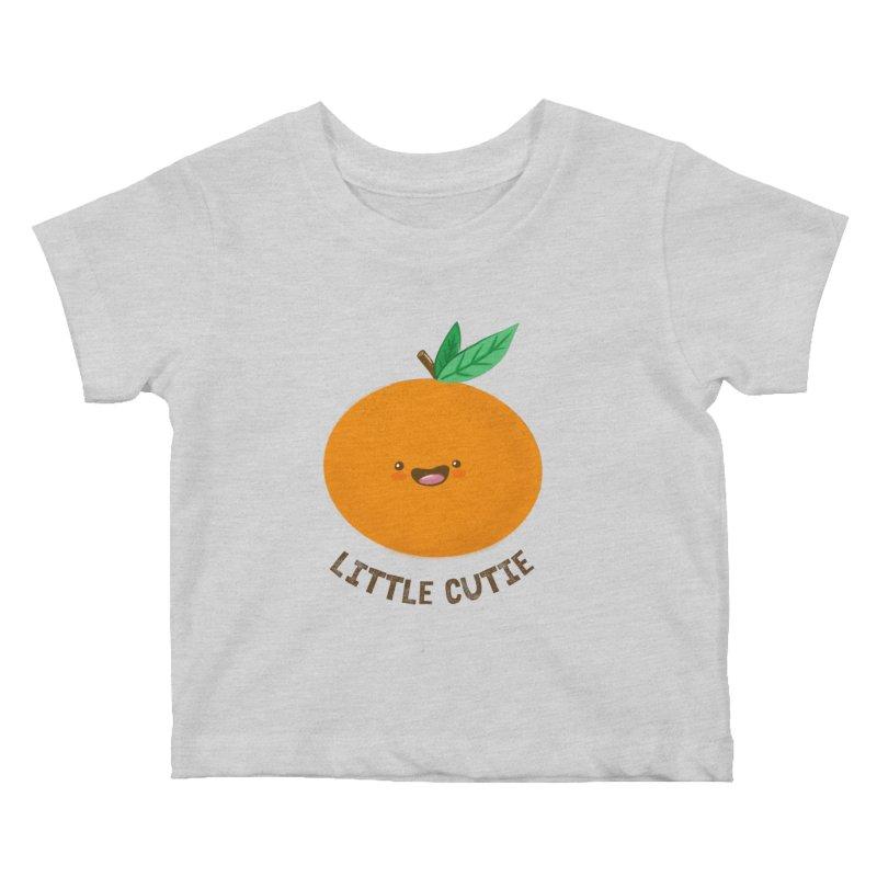 Little Cutie Kids Baby T-Shirt by empty bamboo girl Artist Shop