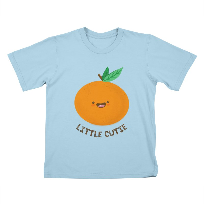 Little Cutie Kids T-Shirt by empty bamboo girl Artist Shop