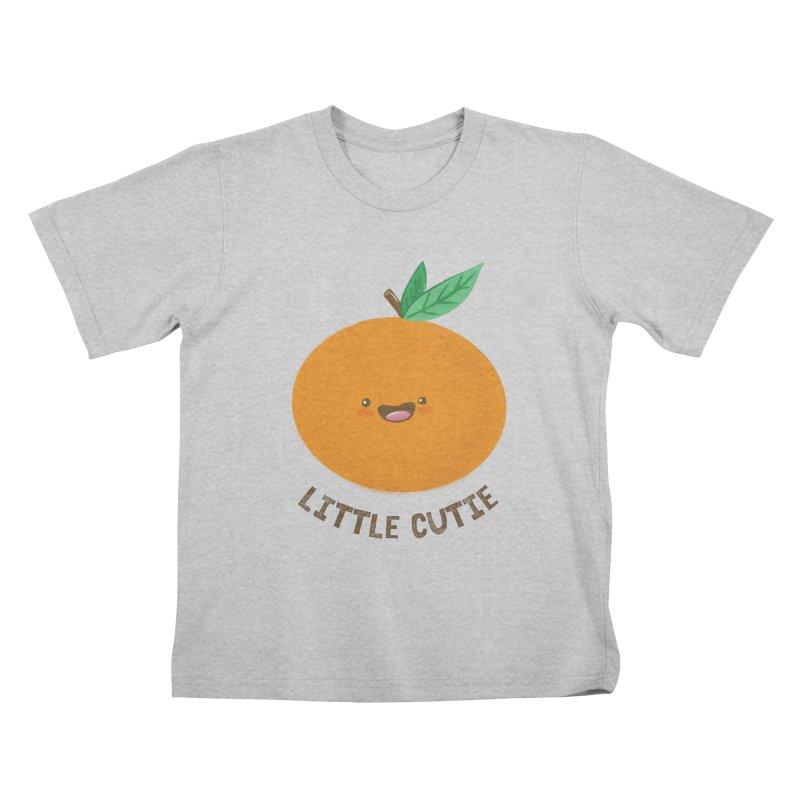 Little Cutie Kids T-Shirt by empty bamboo girl Artist Shop
