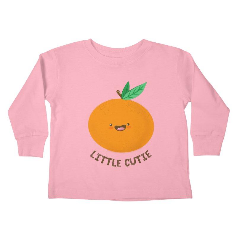 Little Cutie Kids Toddler Longsleeve T-Shirt by empty bamboo girl Artist Shop