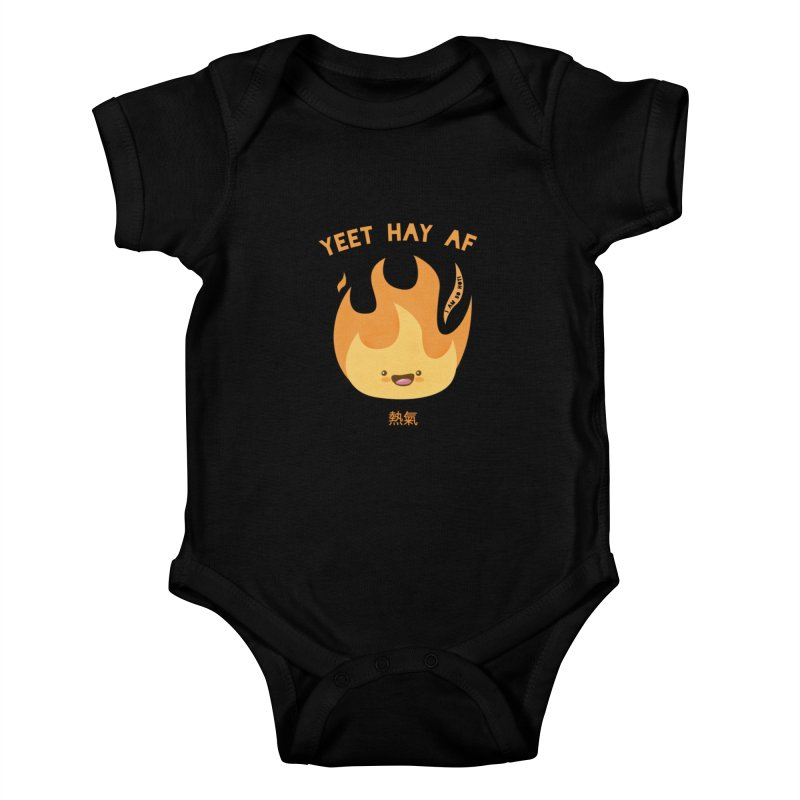 I Am So Hot – Yeet Hay AF Kids Baby Bodysuit by empty bamboo girl Artist Shop