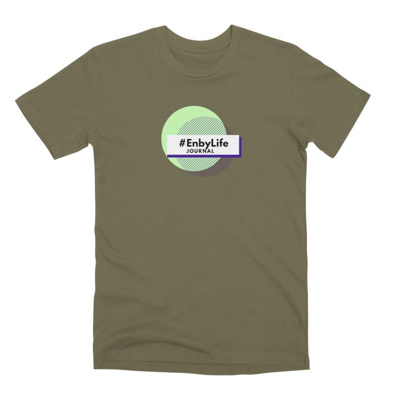#EnbyLife Journal Men's Premium T-Shirt by #EnbyLife's Artist Shop