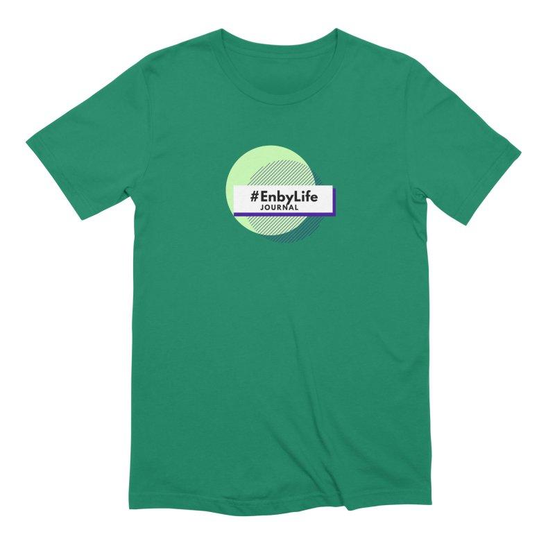 #EnbyLife Journal Men's Extra Soft T-Shirt by #EnbyLife's Artist Shop
