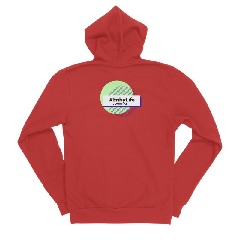 #EnbyLife Journal Women's Zip-Up Hoody by #EnbyLife's Artist Shop