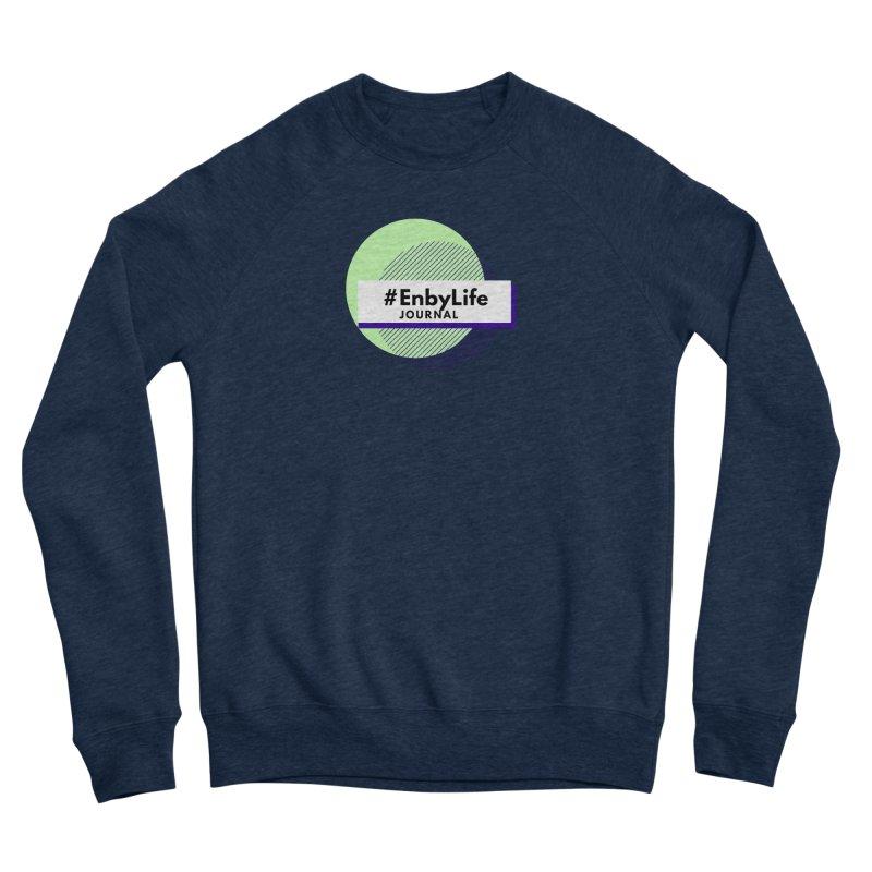 #EnbyLife Journal Men's Sweatshirt by #EnbyLife's Artist Shop