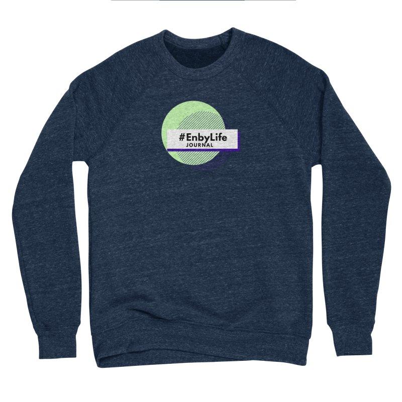 #EnbyLife Journal Women's Sponge Fleece Sweatshirt by #EnbyLife's Artist Shop