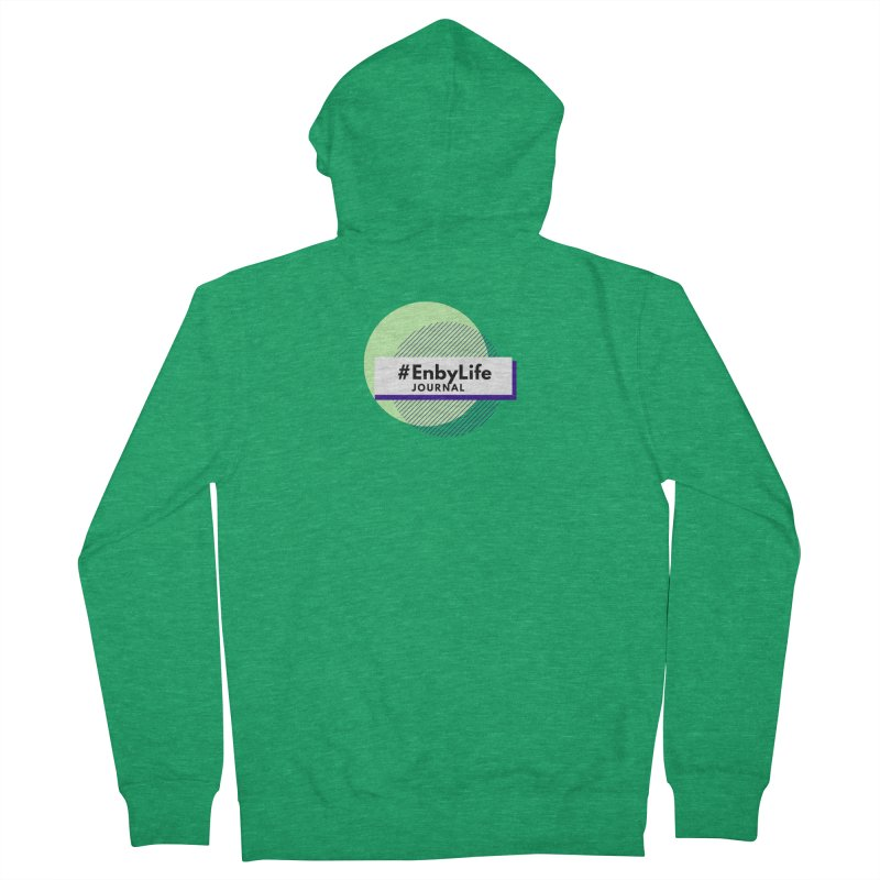 #EnbyLife Journal Men's French Terry Zip-Up Hoody by #EnbyLife's Artist Shop
