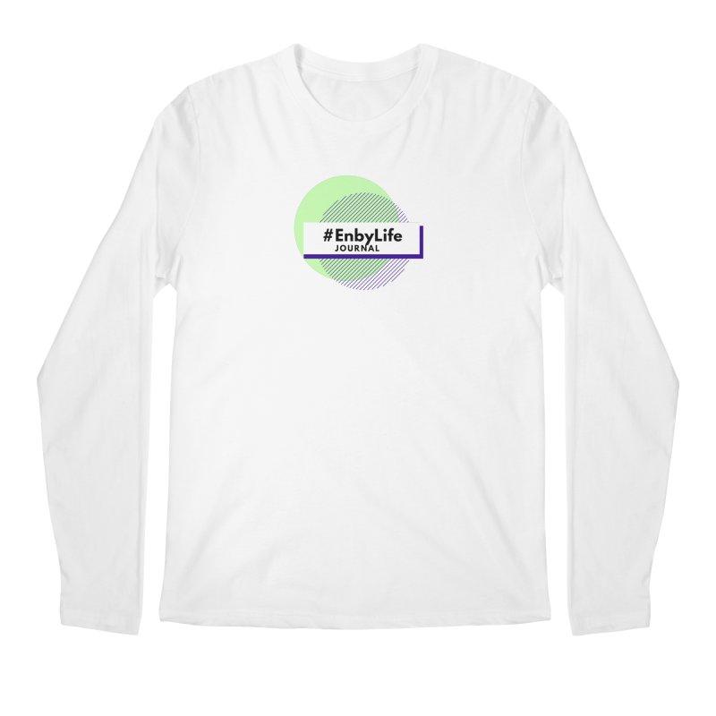 #EnbyLife Journal Men's Longsleeve T-Shirt by #EnbyLife's Artist Shop