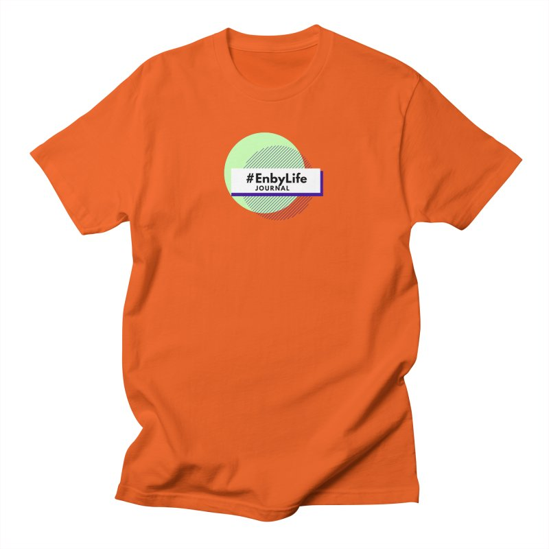 #EnbyLife Journal Men's T-Shirt by #EnbyLife's Artist Shop