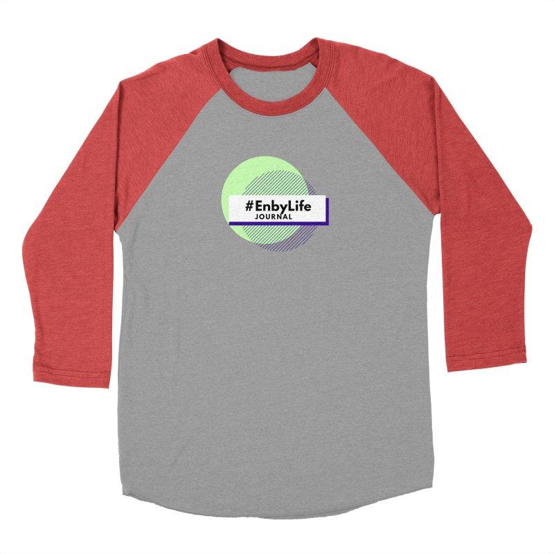 #EnbyLife Journal Women's Baseball Triblend Longsleeve T-Shirt by #EnbyLife's Artist Shop