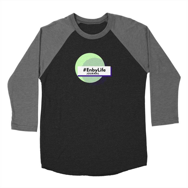 #EnbyLife Journal Men's Baseball Triblend Longsleeve T-Shirt by #EnbyLife's Artist Shop