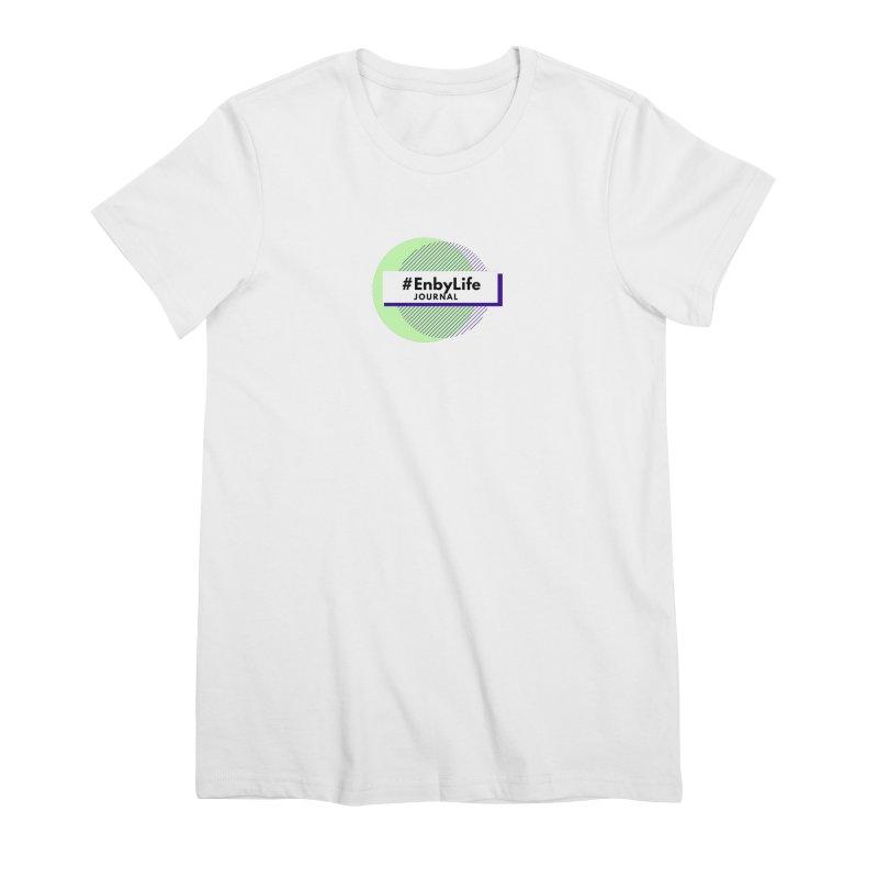 #EnbyLife Reboot Women's Premium T-Shirt by #EnbyLife's Artist Shop
