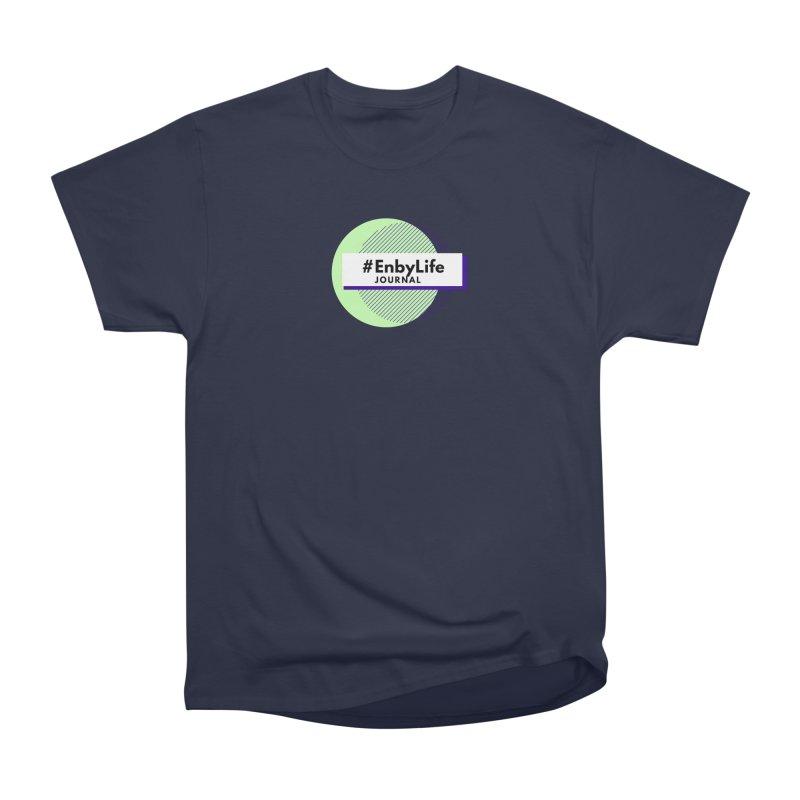 #EnbyLife Reboot Men's Heavyweight T-Shirt by #EnbyLife's Artist Shop