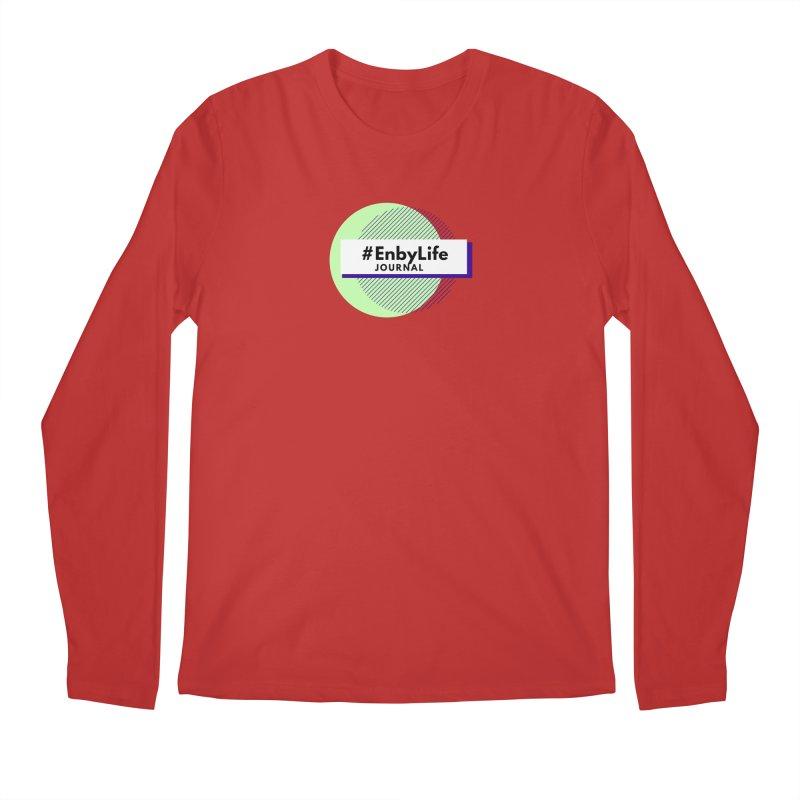 #EnbyLife Reboot Men's Regular Longsleeve T-Shirt by #EnbyLife's Artist Shop