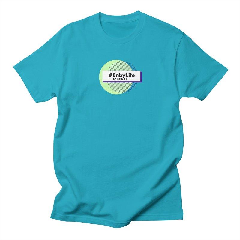#EnbyLife Reboot Men's Regular T-Shirt by #EnbyLife's Artist Shop