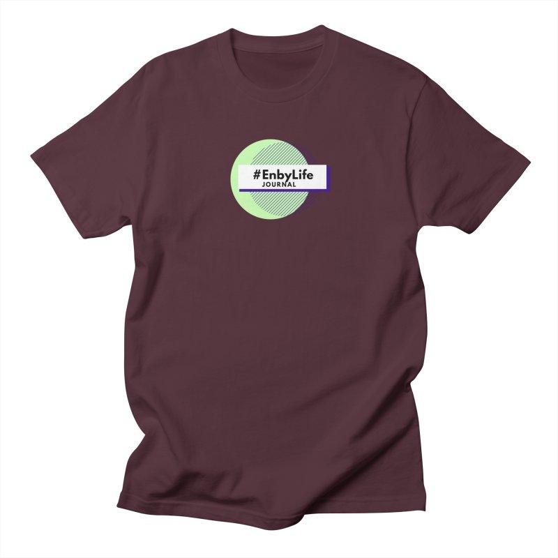 #EnbyLife Reboot Men's T-Shirt by #EnbyLife's Artist Shop