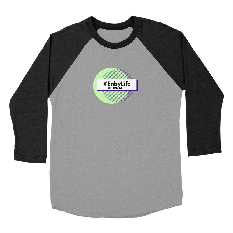 #EnbyLife Reboot Men's Baseball Triblend Longsleeve T-Shirt by #EnbyLife's Artist Shop