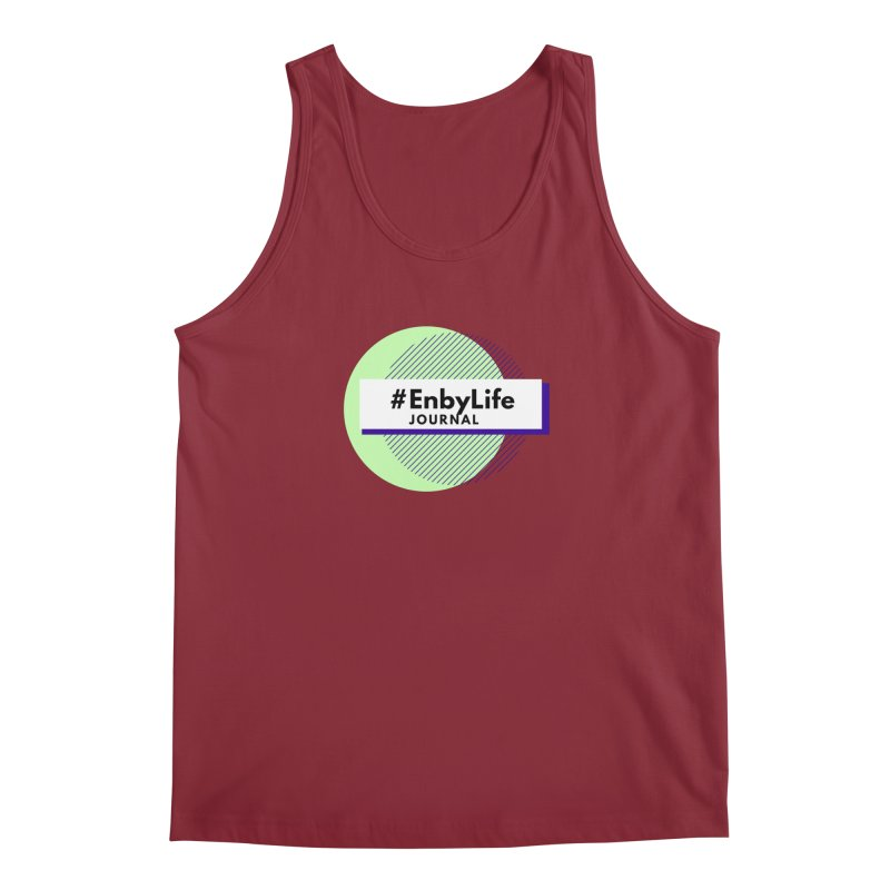#EnbyLife Reboot Men's Regular Tank by #EnbyLife's Artist Shop