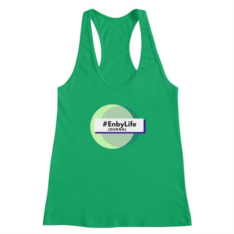#EnbyLife Reboot Women's Racerback Tank by #EnbyLife's Artist Shop