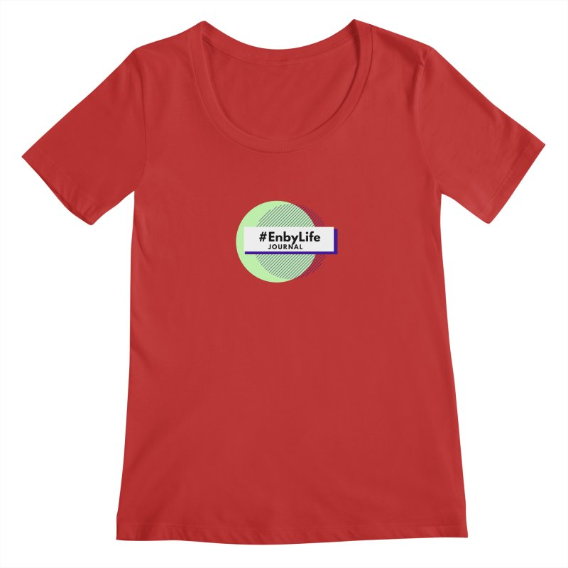 #EnbyLife Reboot Women's Regular Scoop Neck by #EnbyLife's Artist Shop