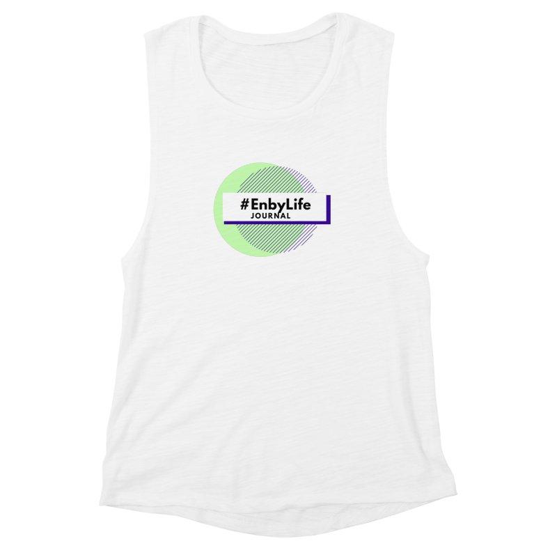#EnbyLife Reboot Women's Muscle Tank by #EnbyLife's Artist Shop