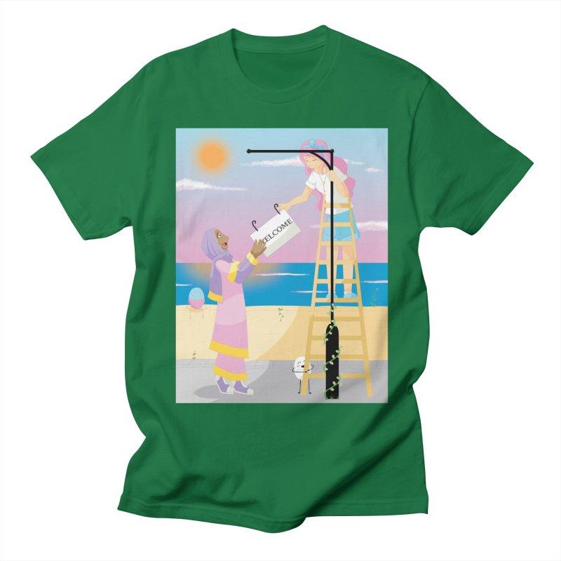 Companions - Welcome Sign Men's T-Shirt by Rachel Yelding   enchantedviolin