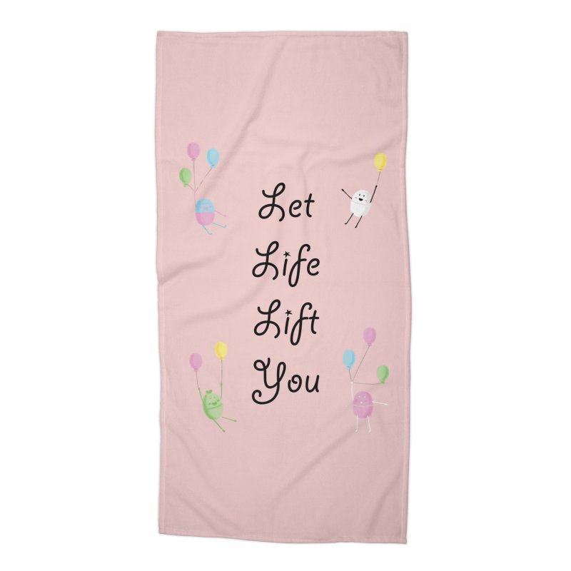 Companions - Let Life Lift You Accessories Beach Towel by Rachel Yelding | enchantedviolin