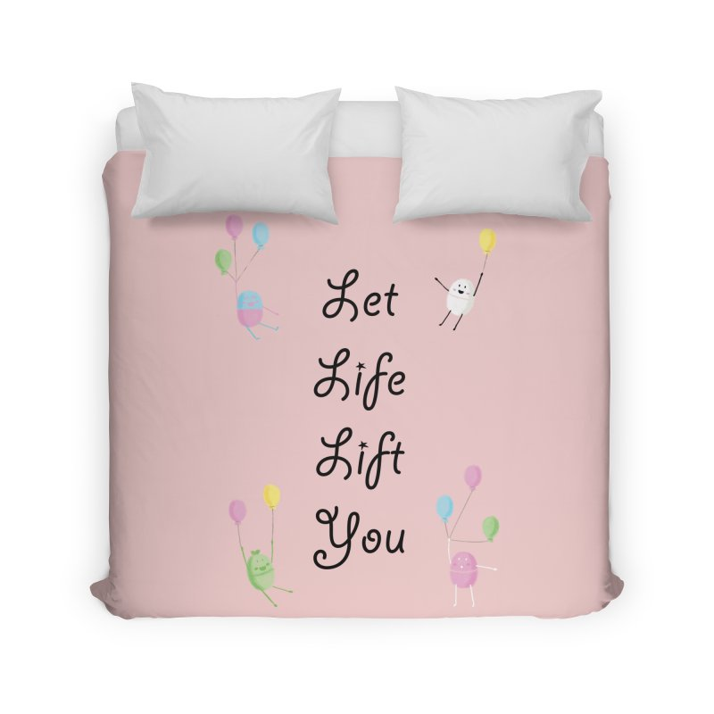Companions - Let Life Lift You Home Duvet by Rachel Yelding | enchantedviolin
