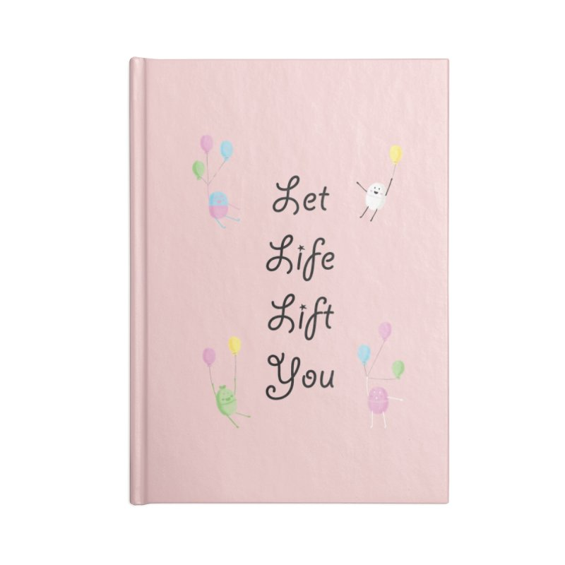 Companions - Let Life Lift You Accessories Lined Journal Notebook by Rachel Yelding | enchantedviolin