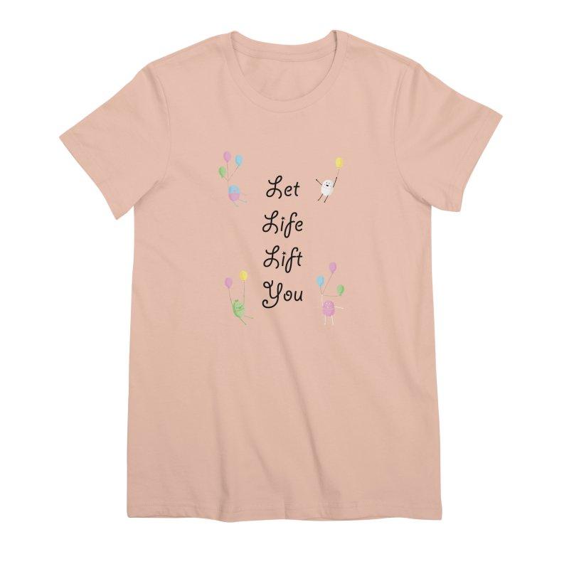 Companions - Let Life Lift You Women's Premium T-Shirt by Rachel Yelding | enchantedviolin