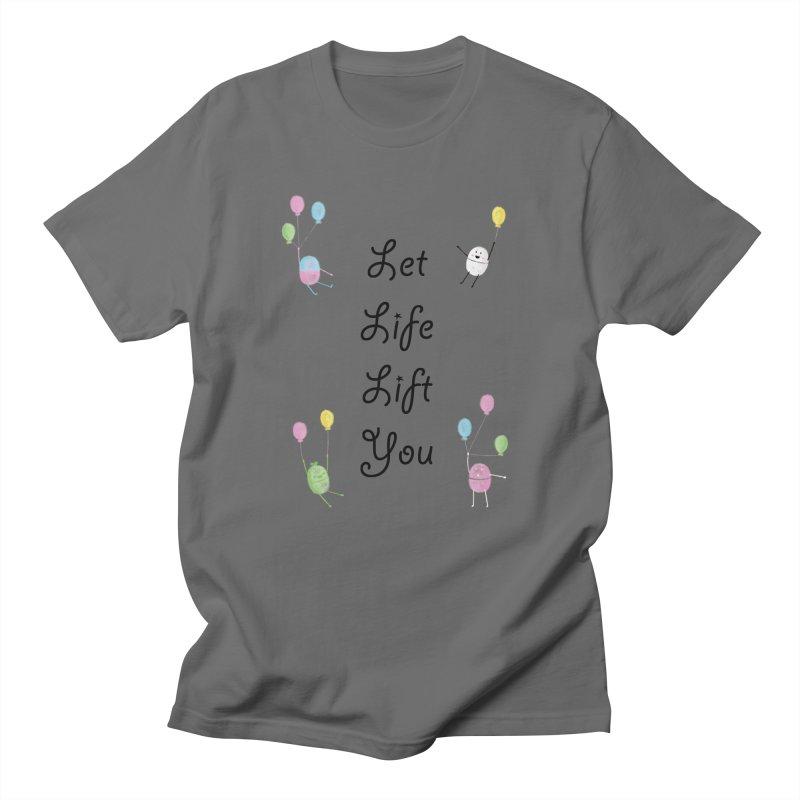 Companions - Let Life Lift You Men's T-Shirt by Rachel Yelding   enchantedviolin