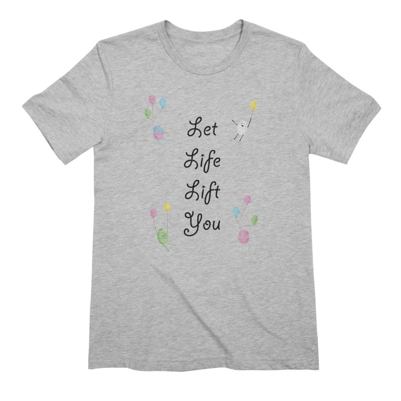 Companions - Let Life Lift You Men's Extra Soft T-Shirt by Rachel Yelding | enchantedviolin