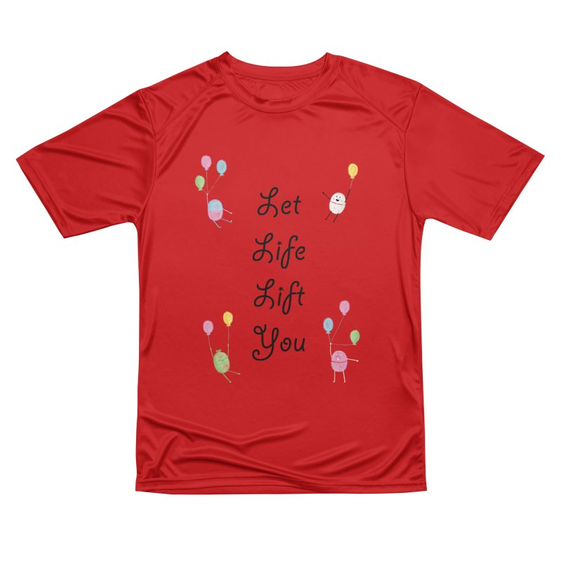 Companions - Let Life Lift You Women's Performance Unisex T-Shirt by Rachel Yelding   enchantedviolin