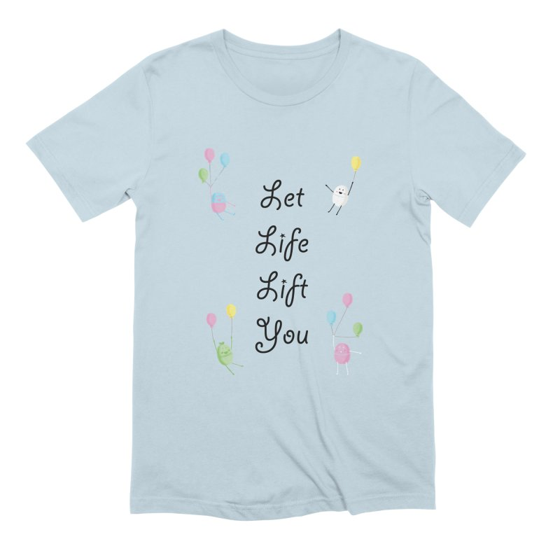 Companions - Let Life Lift You Men's Extra Soft T-Shirt by Rachel Yelding | enchantedviolin