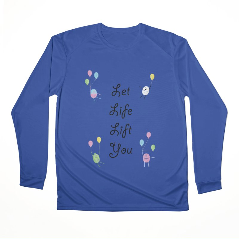 Companions - Let Life Lift You Men's Performance Longsleeve T-Shirt by Rachel Yelding | enchantedviolin