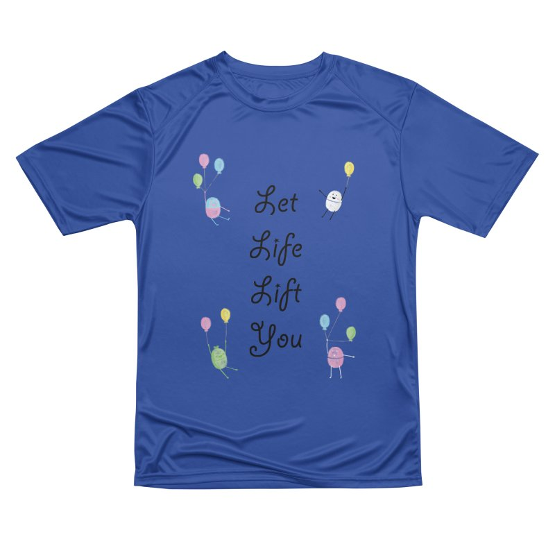 Companions - Let Life Lift You Men's Performance T-Shirt by Rachel Yelding | enchantedviolin