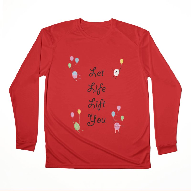 Companions - Let Life Lift You Men's Performance Longsleeve T-Shirt by Rachel Yelding | enchantedviolin