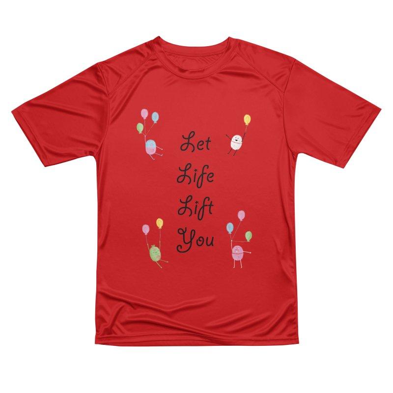 Companions - Let Life Lift You Men's Performance T-Shirt by Rachel Yelding   enchantedviolin