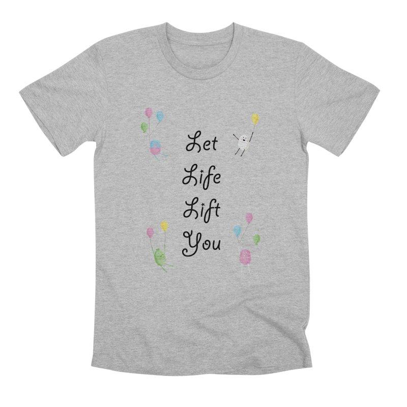 Companions - Let Life Lift You Men's Premium T-Shirt by Rachel Yelding   enchantedviolin