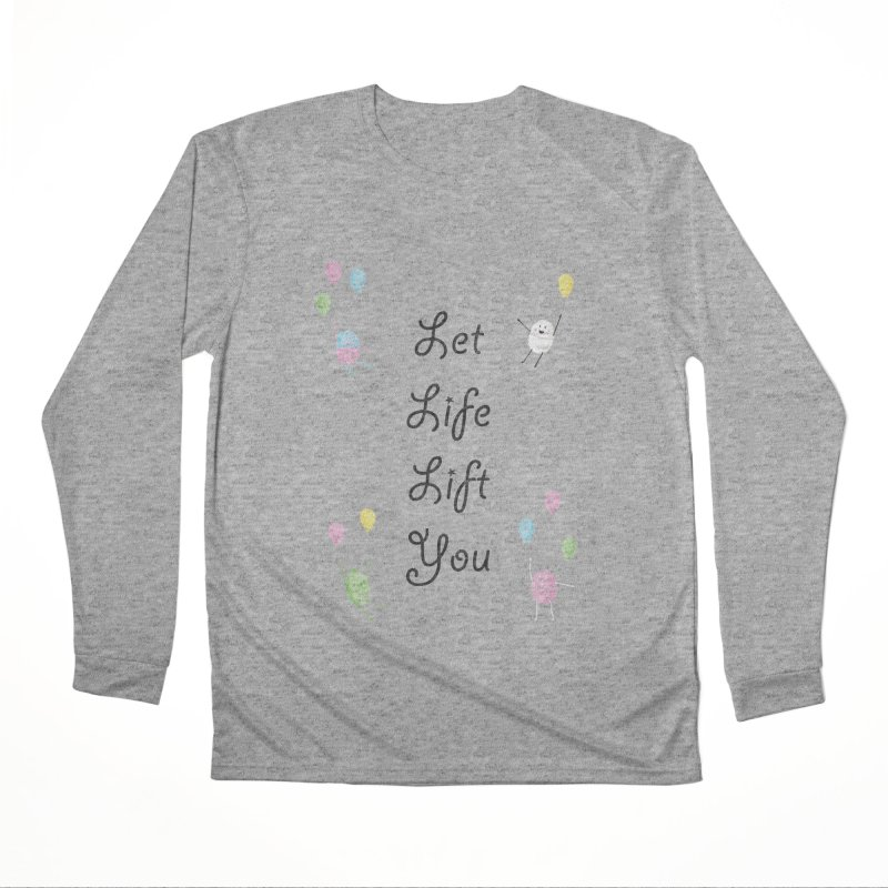 Companions - Let Life Lift You Women's Performance Unisex Longsleeve T-Shirt by Rachel Yelding | enchantedviolin