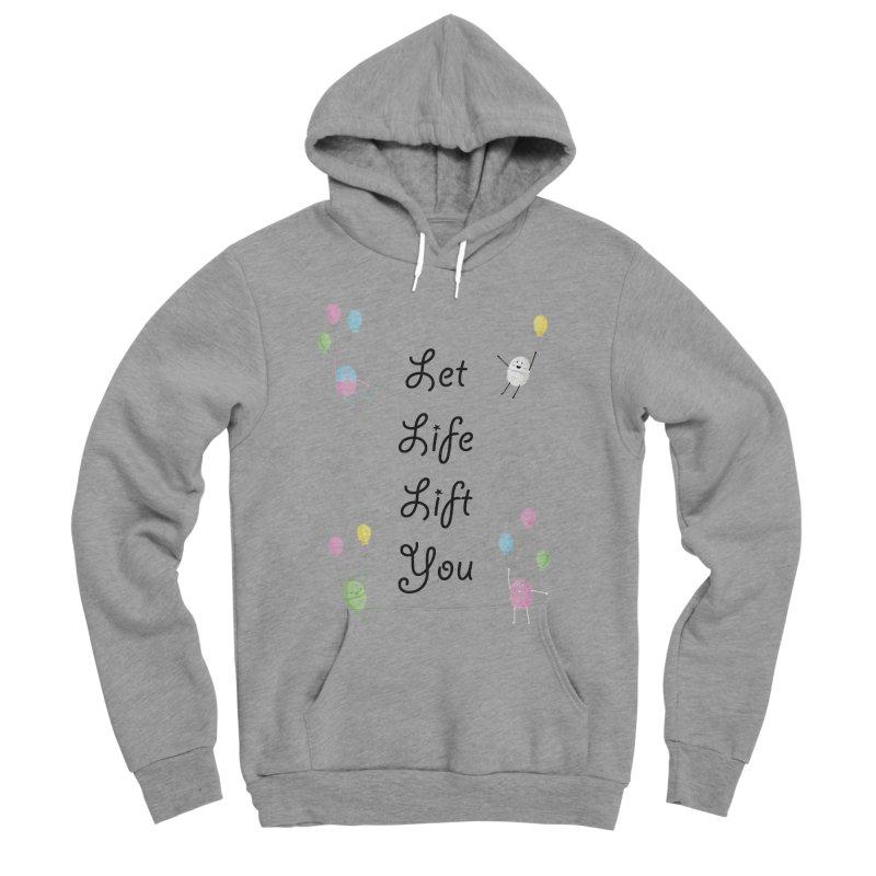 Companions - Let Life Lift You Women's Sponge Fleece Pullover Hoody by Rachel Yelding | enchantedviolin