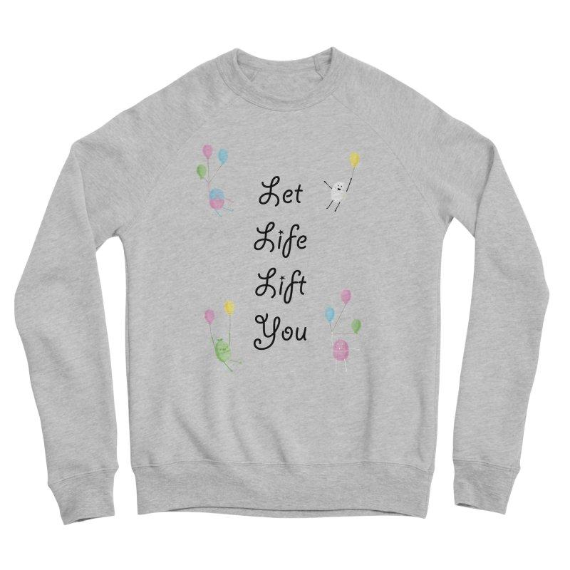 Companions - Let Life Lift You Women's Sponge Fleece Sweatshirt by Rachel Yelding   enchantedviolin