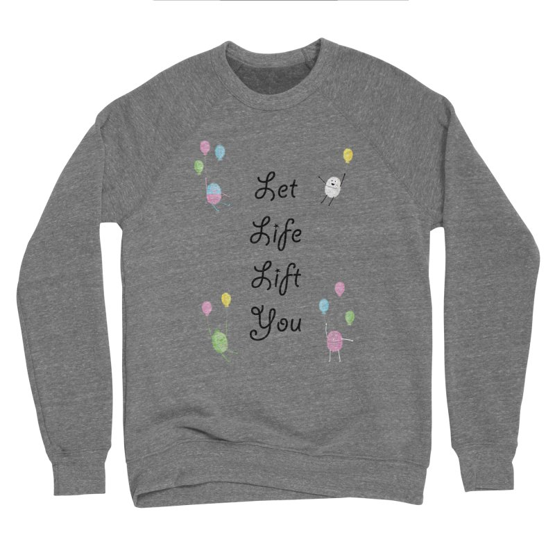 Companions - Let Life Lift You Men's Sponge Fleece Sweatshirt by Rachel Yelding | enchantedviolin