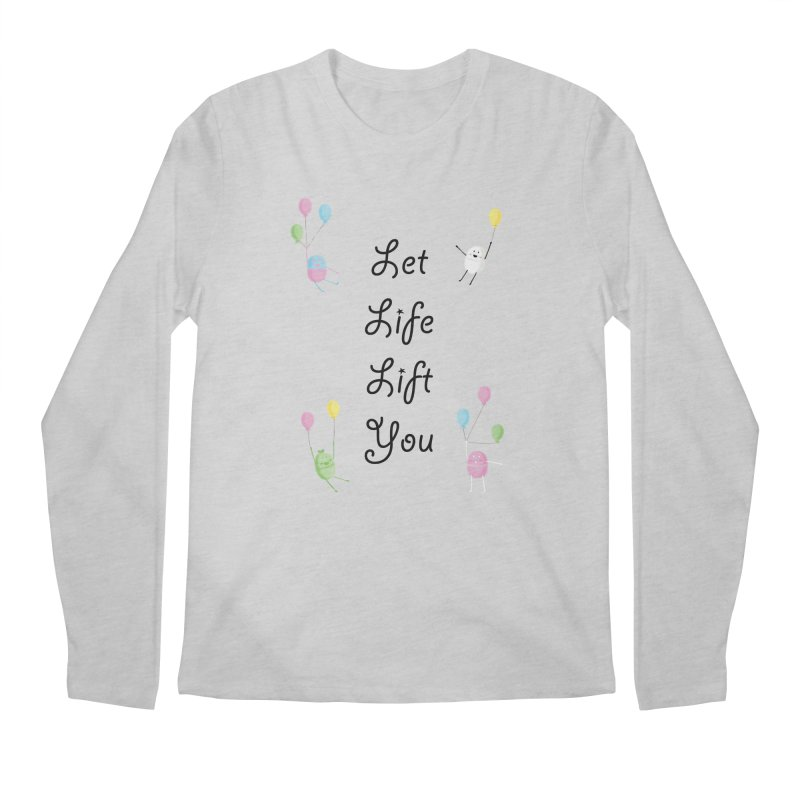Companions - Let Life Lift You Men's Longsleeve T-Shirt by Rachel Yelding | enchantedviolin