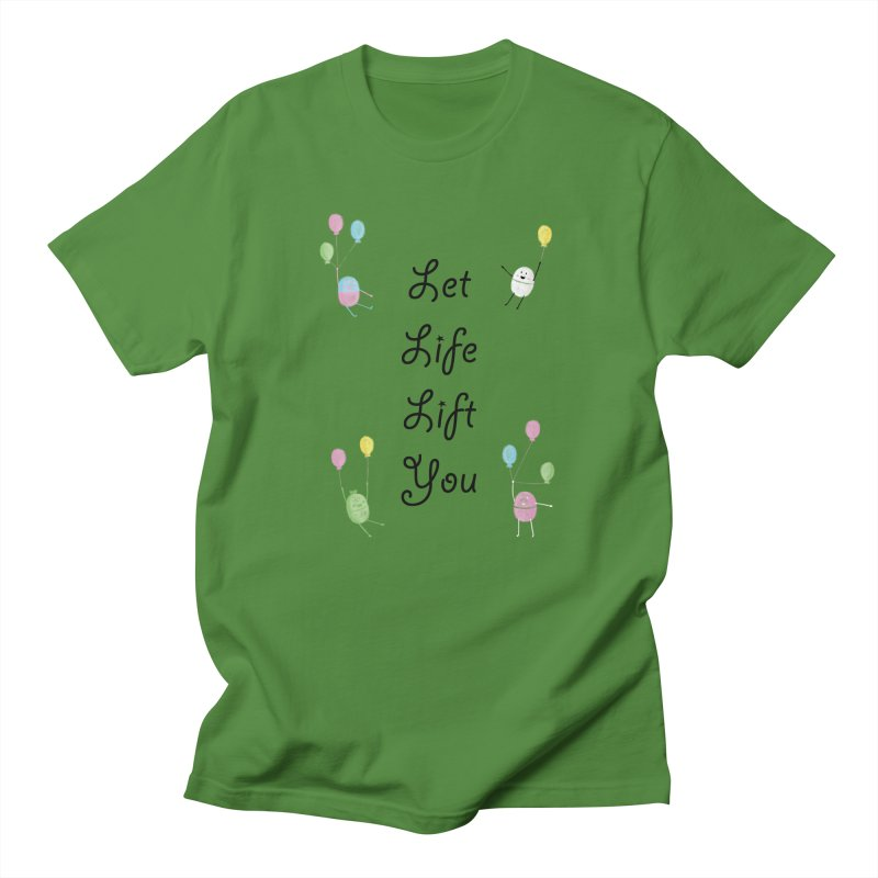 Companions - Let Life Lift You Men's Regular T-Shirt by Rachel Yelding | enchantedviolin